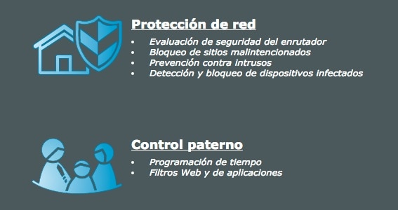 Asus protección de red