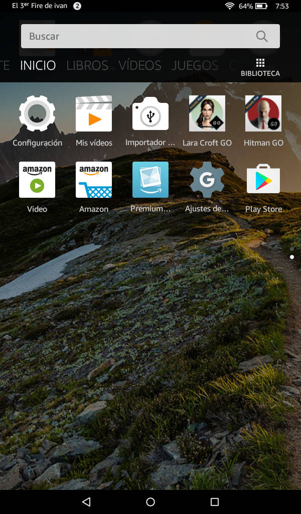 fire tablet instalar google play store