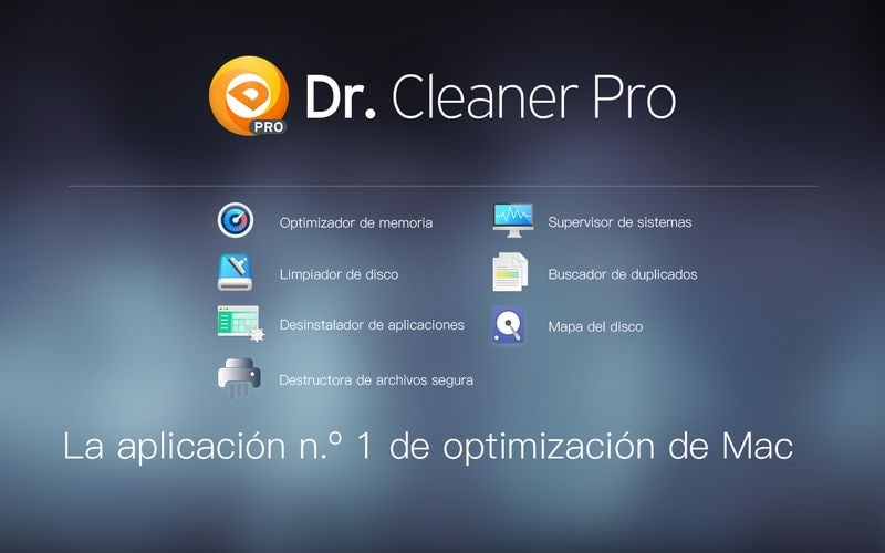 Dr. Cleaner Pro es la versión profesional de Dr. Cleaner. Dr. Cleaner Pro también incluye Buscador de duplicados y Desinstalador de aplicaciones.