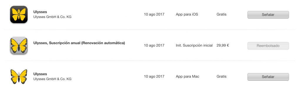 ¿Cómo puedes devolver una aplicación o suscripción en la app Store o en iTunes de Apple?