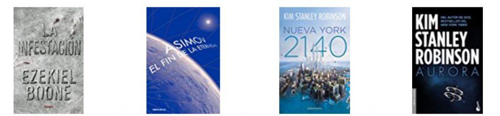 Libros ciencia ficción