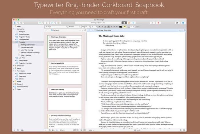 Scrivener 3 para Mac