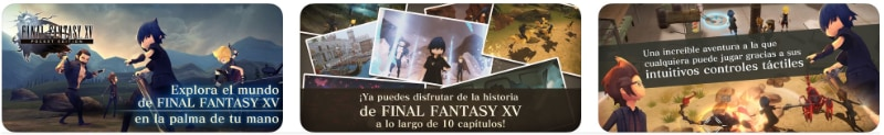 FINALFANTASY XV POCKET EDITION