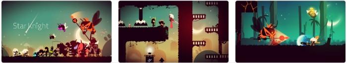 Star night juego plataformas iPhone