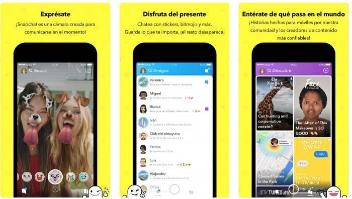 snapchat app iphone