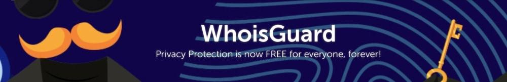 Namecheap ofrece la Protección de Privacidad WhoisGuard gratis para siempre