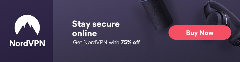 Oferta VPN 2018: NordVPN 75% descuento