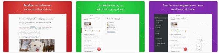 bear writer app ipad pro