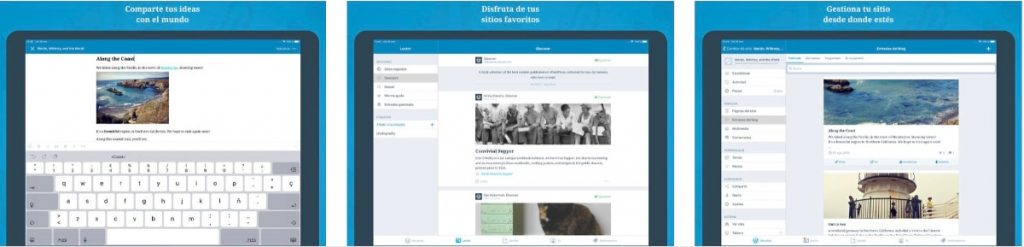 ¿Es posible administrar tu blog de WordPress con tu iPad?