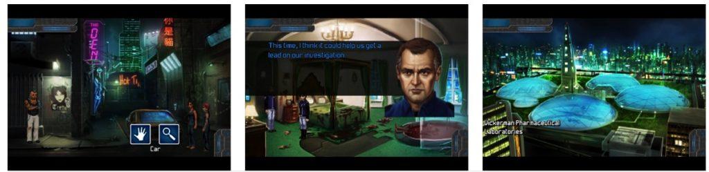 Technobabylon juego iOS