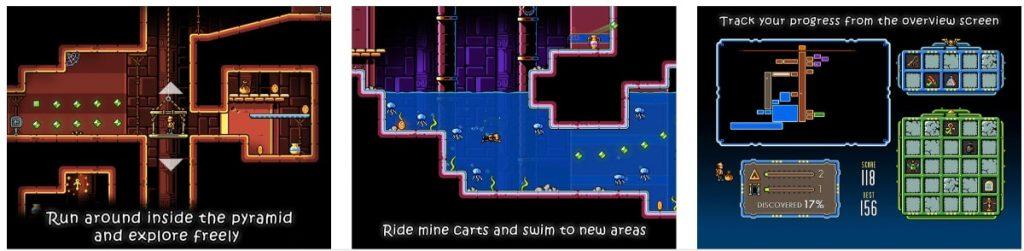 Traps n' Gemstones iOS juego
