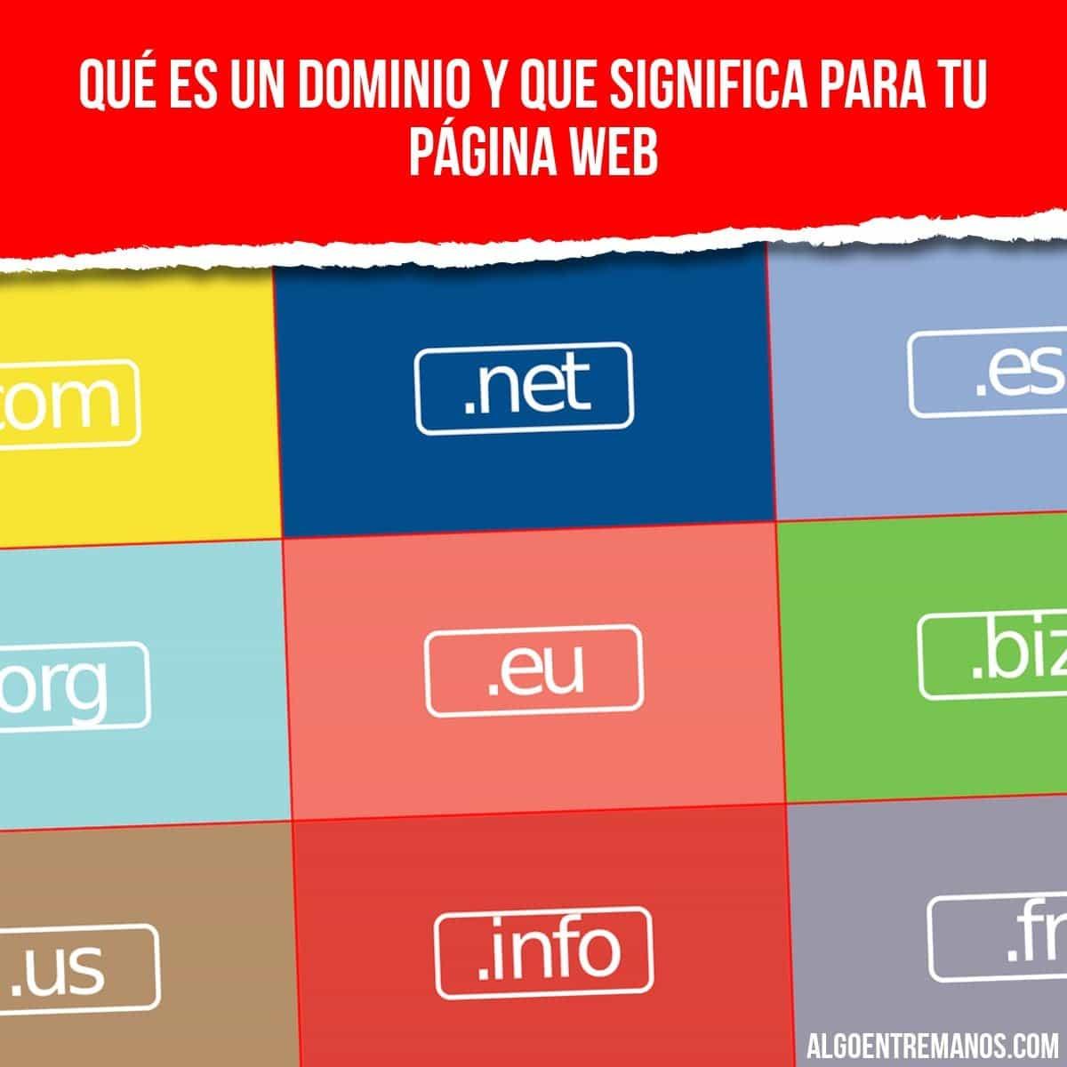 ¿Sabes qué es un dominio web y como se tiene configurar con tu hosting?
