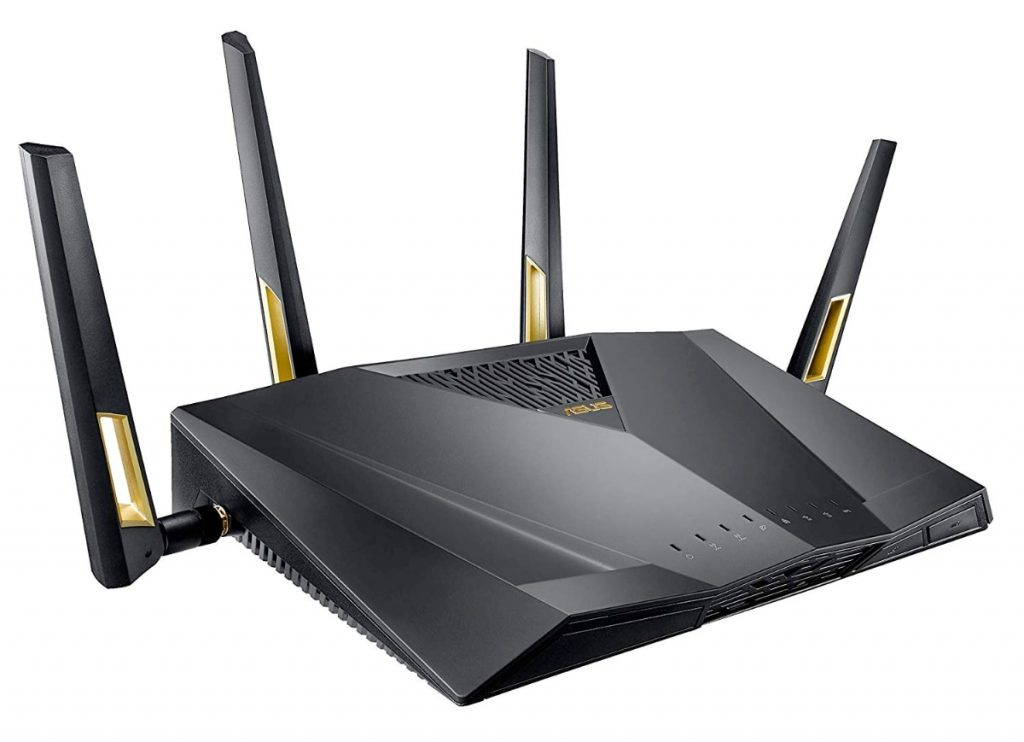 ASUS RT-AX88U - Router Gaming AX6000 Doble Banda Gigabit con WIFI 6