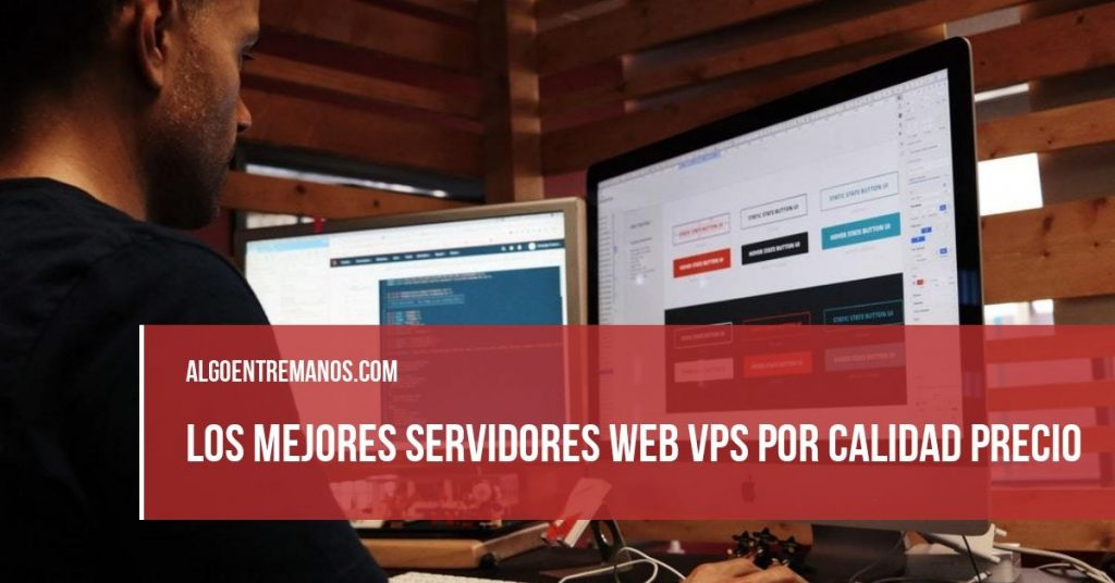 Los 3 mejores servidores web VPS por calidad precio