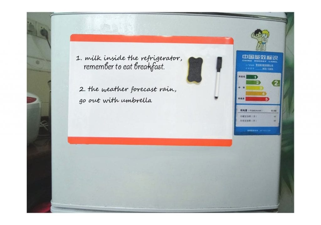 Pizarra blanca magnética de tamaño A4 de Villexun