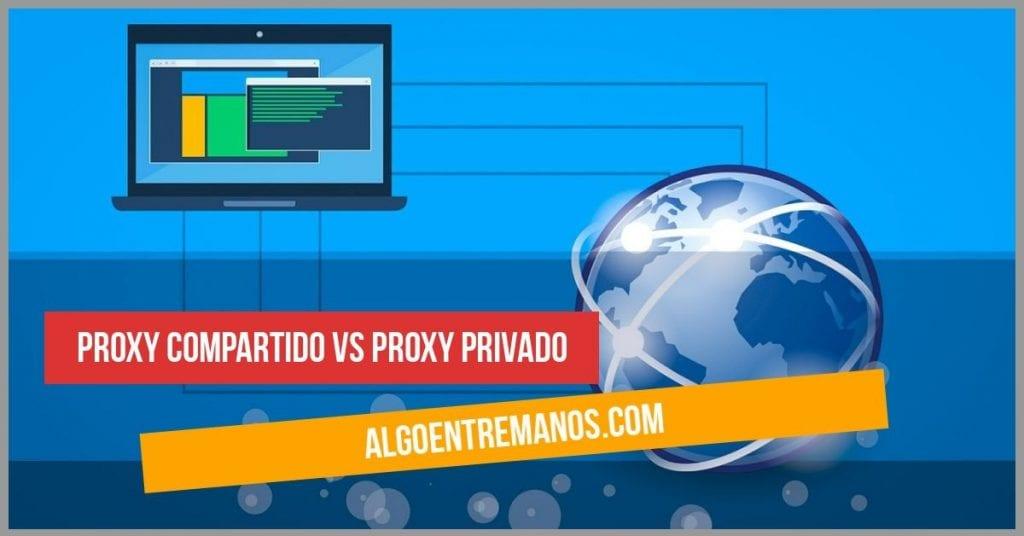Proxy compartido vs Proxy privado: ¿Cuál es mejor, un proxy gratuito o uno de pago?