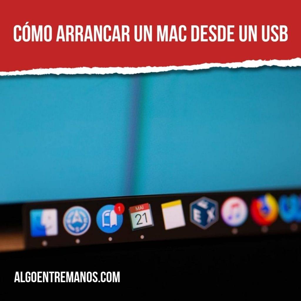 Cómo arrancar un Mac desde un USB: creamos un USB bootable con MacOS