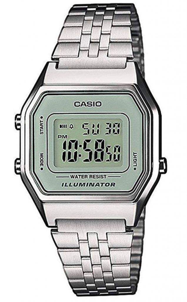 Reloj Casio clásico para mujer: Casio LA680WEA-7EF
