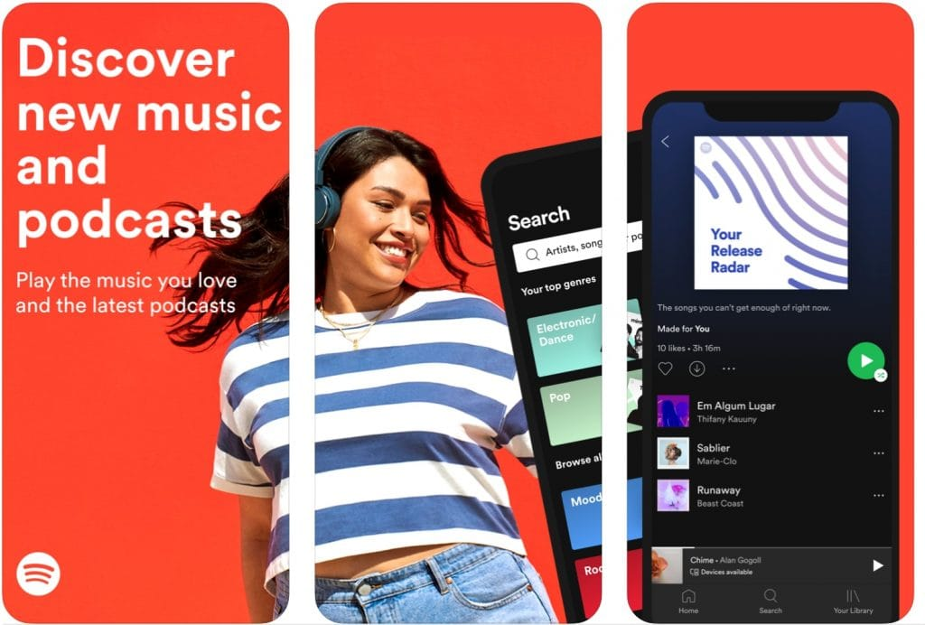 spotify app iPhone
