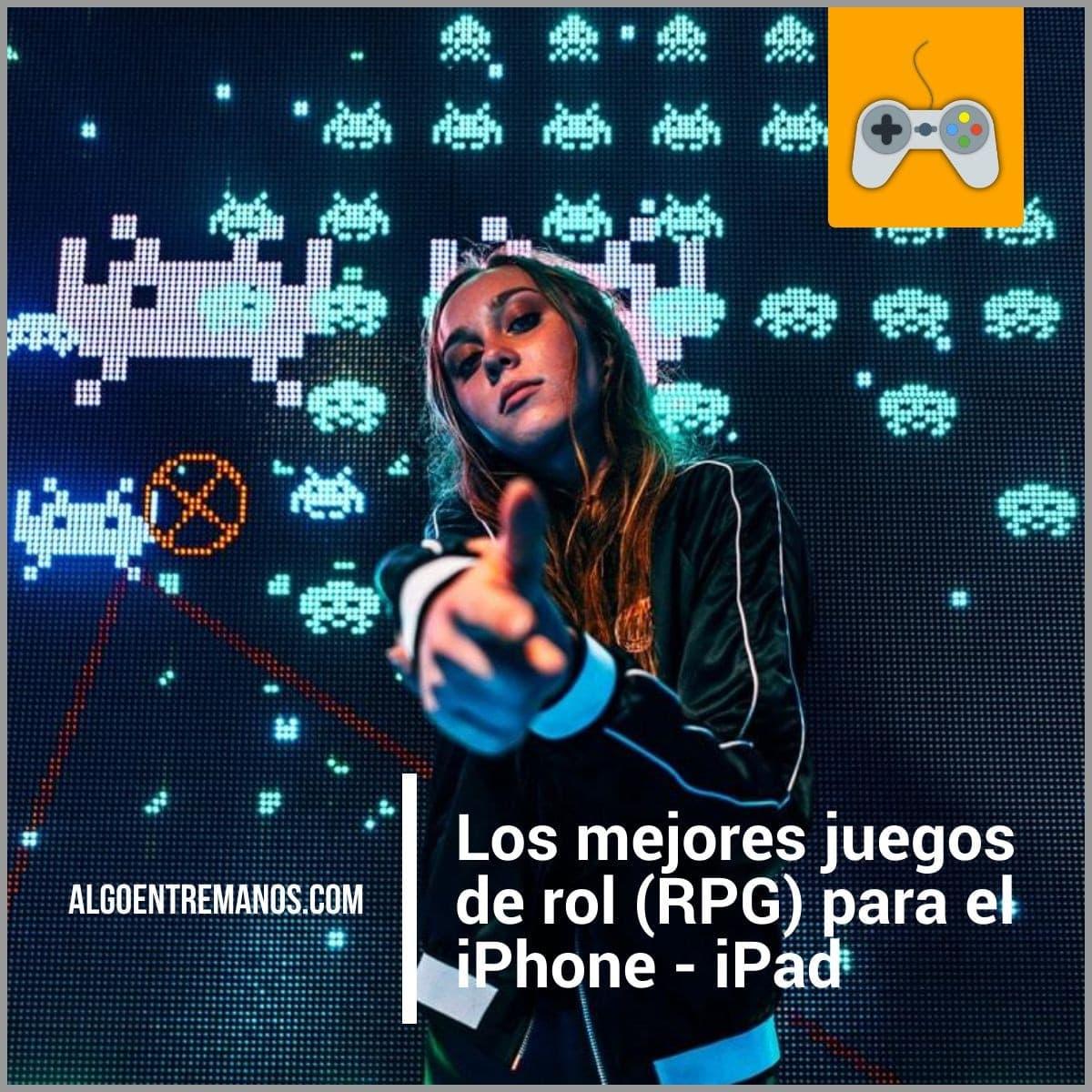 mejores juegos de rol (RPG) para el iPhone - iPad