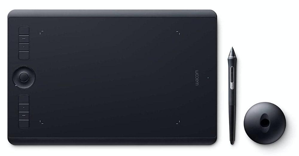 Wacom Intuos Pro M Tableta gráfica con lápiz digital Pro Pen 2