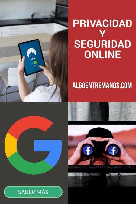 privacidad y seguridad online