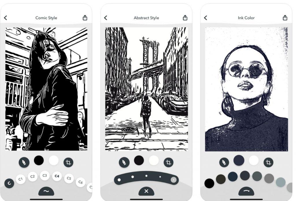 Inkwork Convierte tus fotos en arte