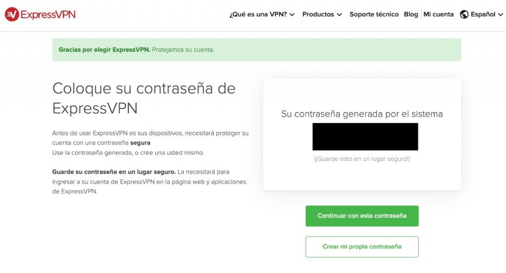 ExpressVPN: proceso de alta en este VPN