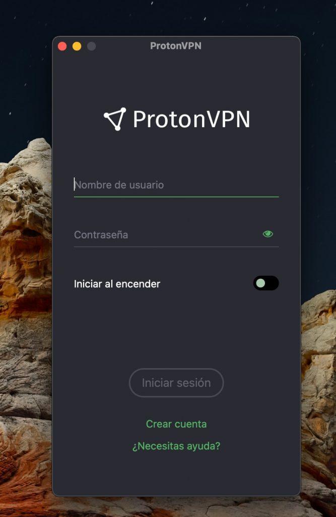 ProtonVPN: aplicaciones