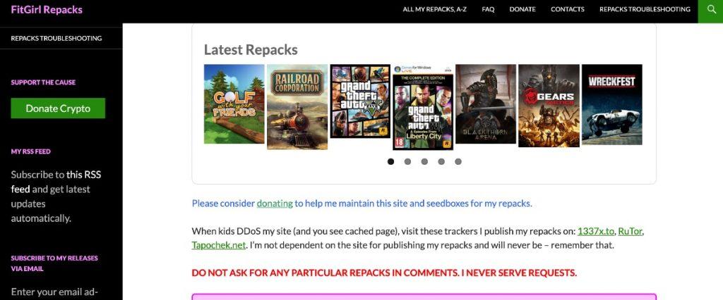 FitGirl Repacks: descarga videojuegos