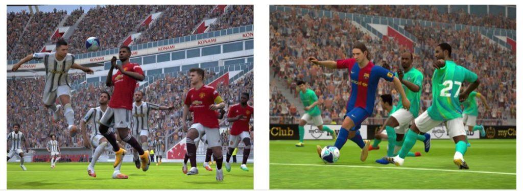 eFootball PES 2021 ¡Acción futbolística real!