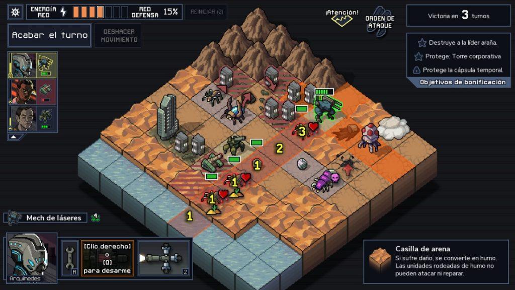 Into the Breach juego estrategia Mac
