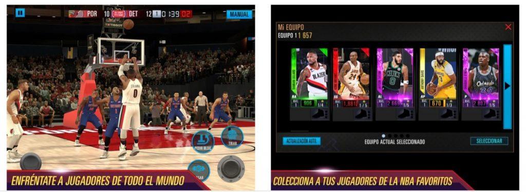 NBA 2K Mobile - Baloncesto