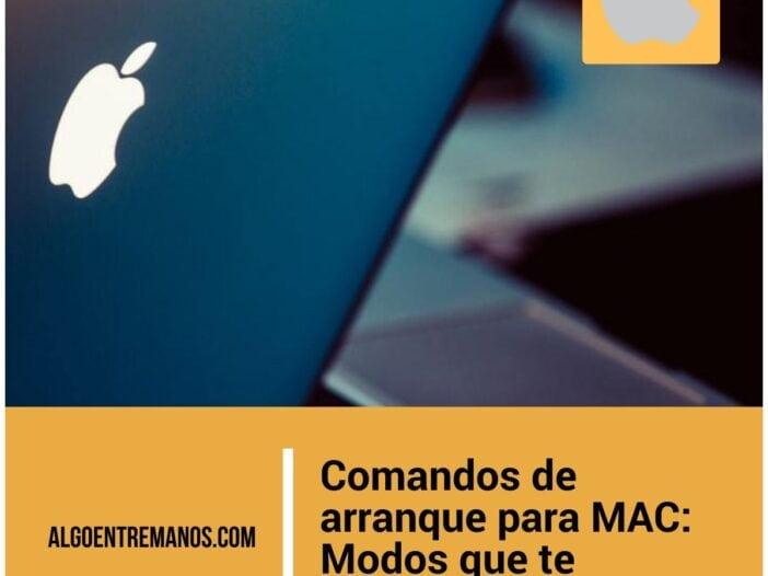 Comandos de arranque para MAC: Modos que te pueden salvar la vida